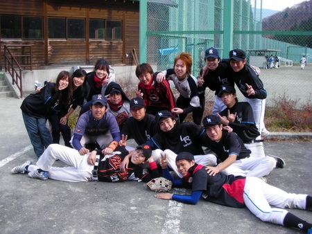 Laugh Rough Baseball Club HP